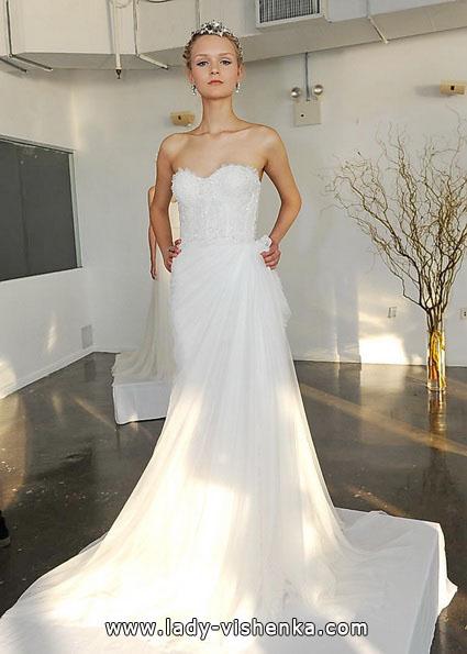 Простое свадебное платье 2016 - Marchesa