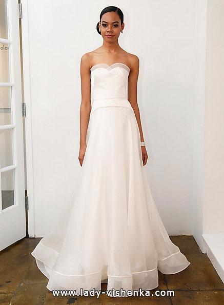 Простое свадебное платье 2016 - Pamella Roland