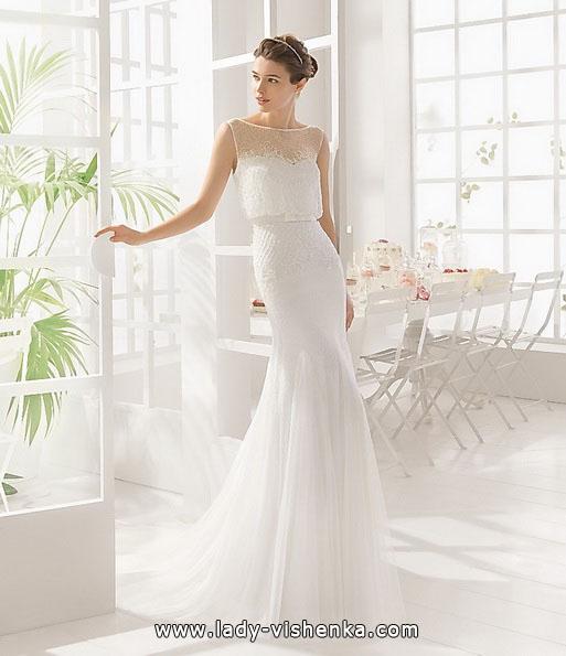 Простое свадебное платье 2016 - Aire Barcelona