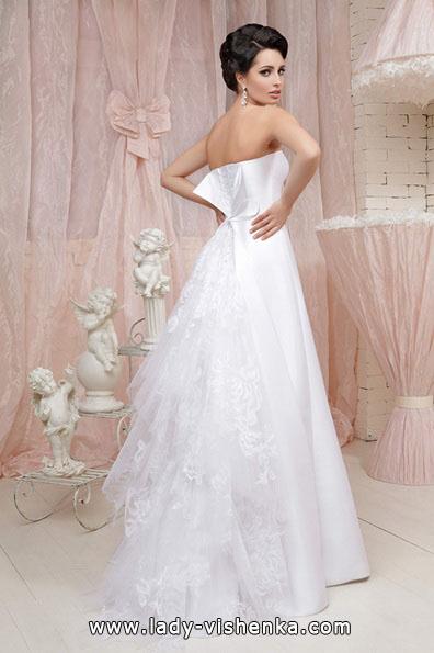 Простое длинное свадебное платье - Tatiana Kaplun
