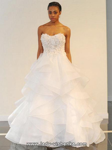 Простое свадебное платье 2016 - Yumi Katsura