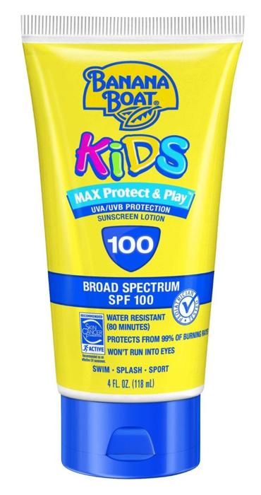 12. Вредные детские солнцезащитные кремы