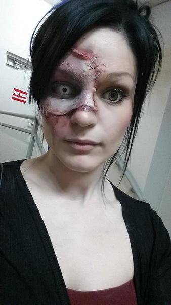Страшный макияж на Хэллоуин