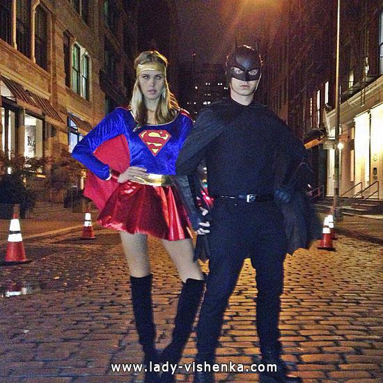 Девушка Бэтмена - костюм на Хэллоуин