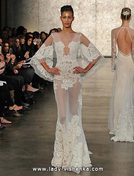 Прозрачное свадебное платье - Inbal Dror