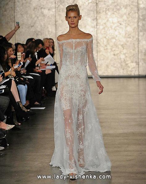 Прозрачные свадебные платья 2016 - Inbal Dror
