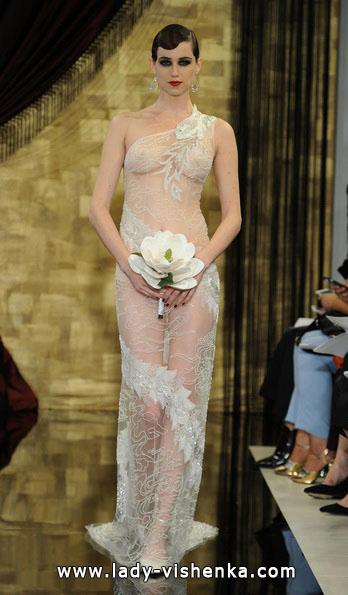 Прозрачные свадебные платья 2016 - Theia