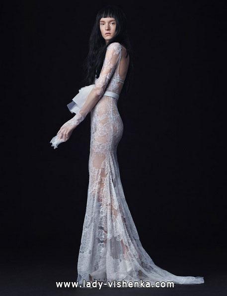 Прозрачные свадебные платья 2016 - Vera Wang