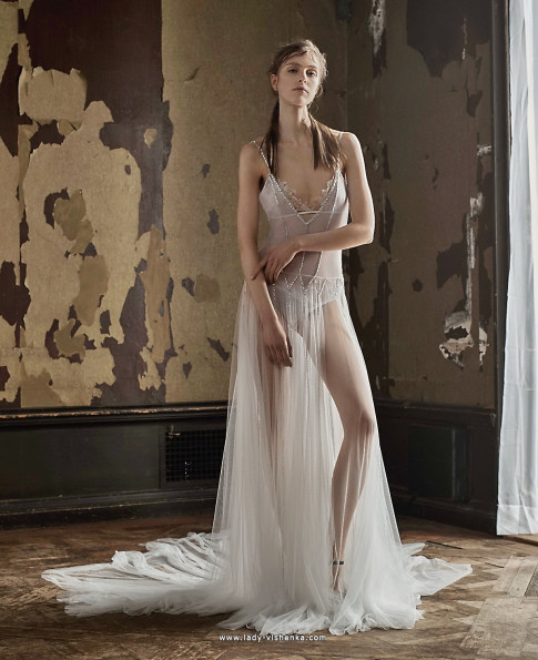 Прозрачные свадебные платья - Vera Wang