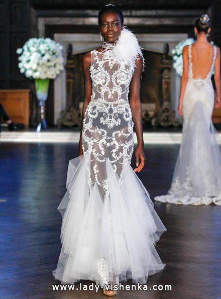 Прозрачное свадебное платье - Alon Livne