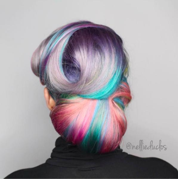 Необычные волосы