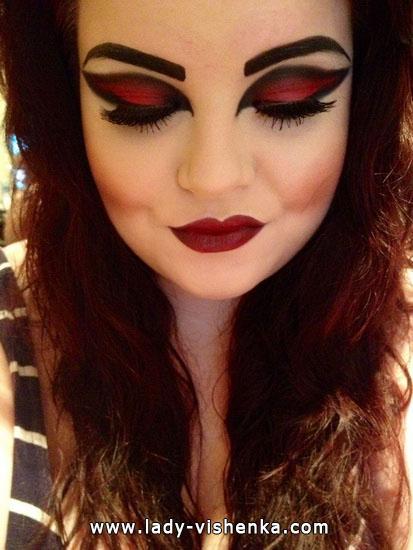 Вампир на Хэллоуин - образ и макияж