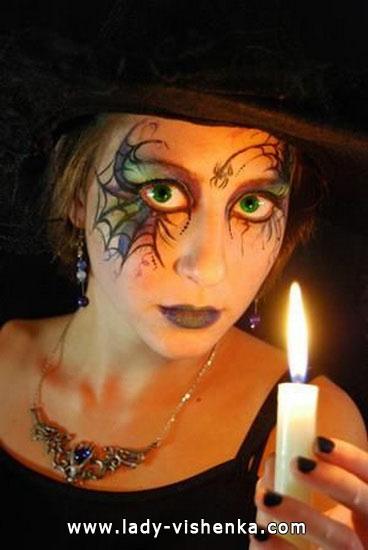 Вампирша на Хэллоуин