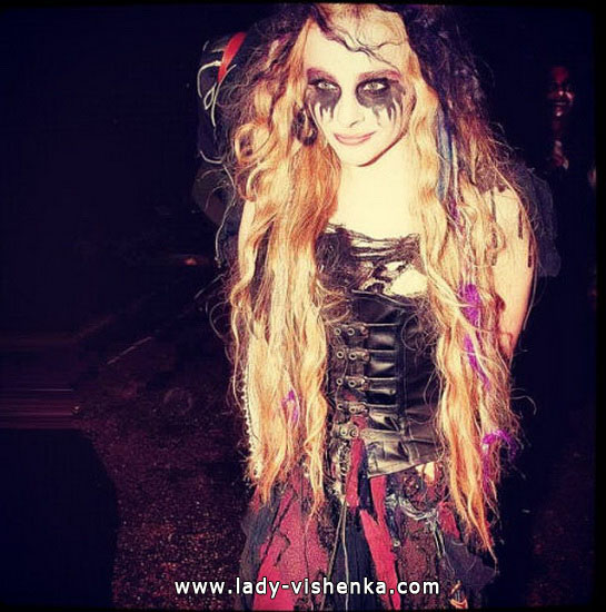 Платье на Хэллоуин - Вампирша