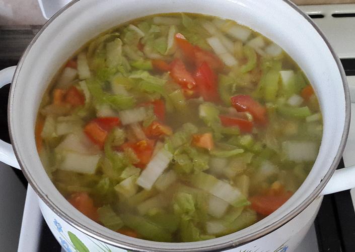 Суп с пекинской капустой - рецепт