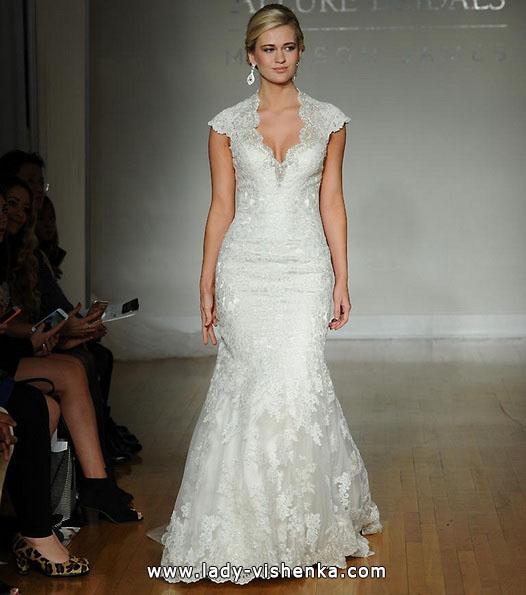 Свадебные платья с закрытыми плечами 2016 - Allure