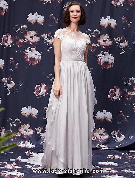 Свадебные платья с закрытыми плечами 2016 - Ivy & Aster
