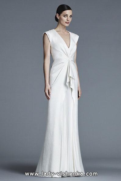 Свадебные платья с закрытыми плечами 2016 - J. Mendel