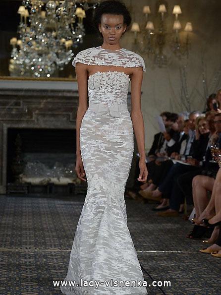 Свадебные платья с закрытыми плечами 2016 - Mira Zwillinger