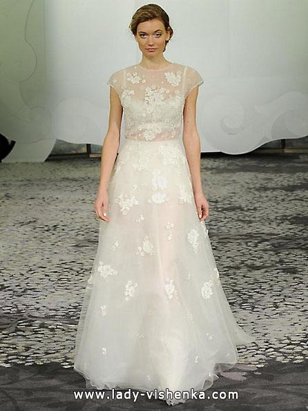 Свадебные платья с закрытыми плечами 2016 - Rivini