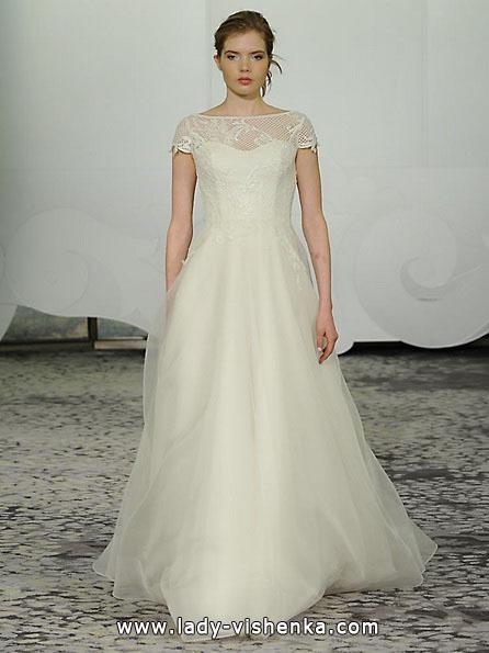 Пышные свадебные платья с закрытыми плечами 2016 - Rivini