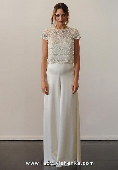 Свадебные платья с закрытыми плечами 2016 - Temperley