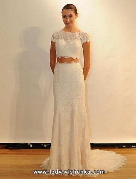Свадебные платья с закрытыми плечами 2016 - Val Stefani