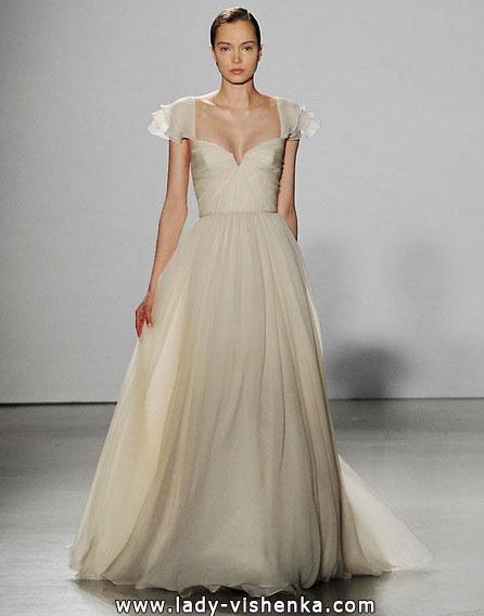 Свадебные платья с закрытыми плечами 2016 - Amsale