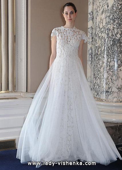 Свадебные платья с закрытыми плечами 2016 - Christos Costarellos