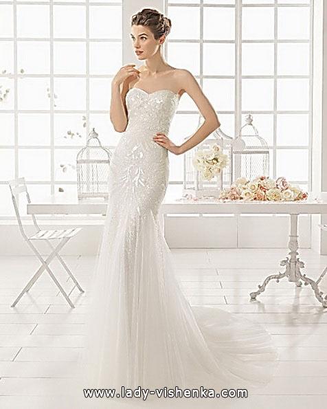 Свадебное платье рыбка со шлейфом - Aire Barcelona