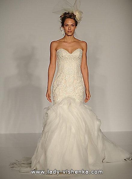 Свадебное платье рыбка со шлейфом - Sottero and Midgley