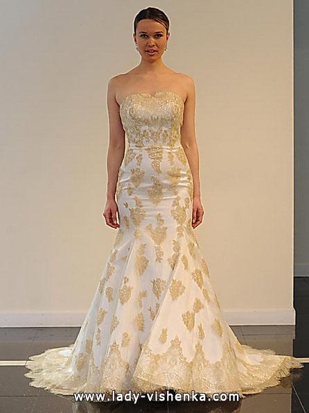 Свадебное платье русалочка со шлейфом - Yumi Katsura