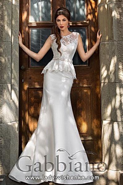 Свадебное платье рыбка со шлейфом - Gabbiano