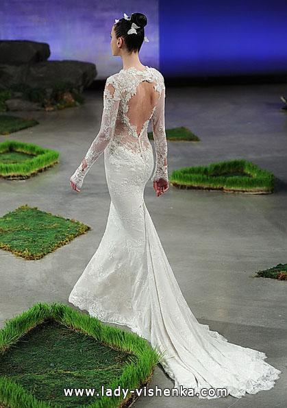 Свадебные платья с кружевными рукавами 2016 - Ines Di Santo