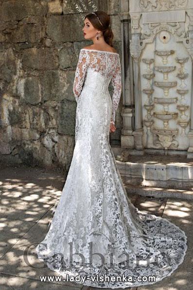 Свадебные платья с кружевными рукавами 2016 - Gabbiano