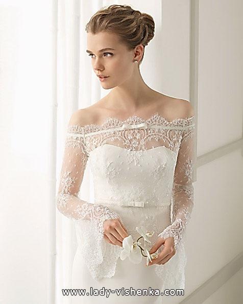 Свадебные платья с кружевными рукавами - Aire Barcelona