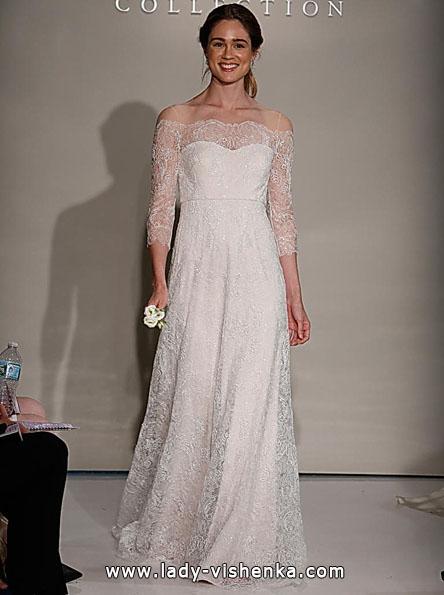 Свадебные платья с кружевными рукавами 2016 - Jenny Yoo