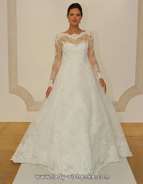 Свадебные платья с кружевными рукавами - Judd Waddell