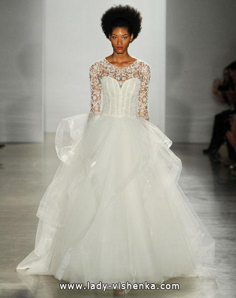 Свадебные платья с кружевными рукавами - Kenneth Pool