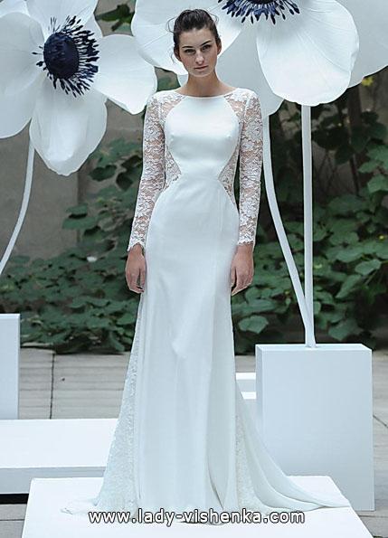 Свадебные платья с кружевными рукавами - Lela Rose