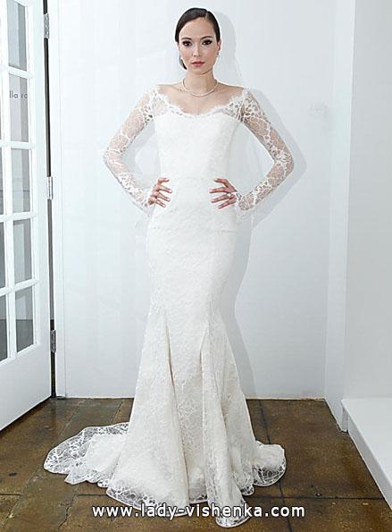 Свадебные платья с кружевными рукавами - Pamella Roland