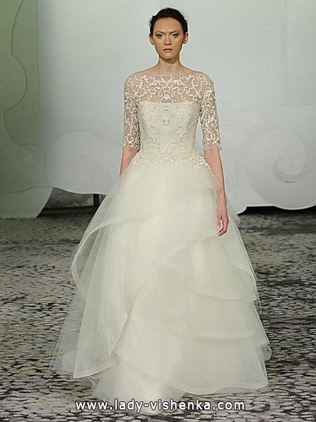 Свадебные платья с кружевными рукавами - Rivini
