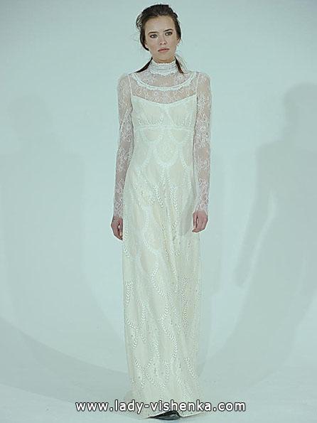 Свадебные платья с кружевными рукавами 2016 - Claire Pettibone
