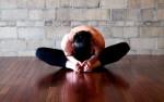 Поза бабочки в йоге