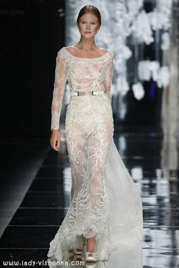 Прозрачные свадебные платья YolanCris