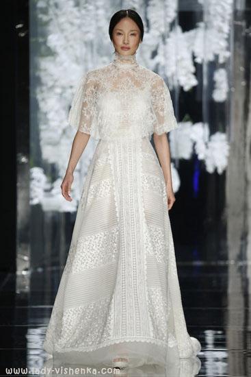 Накидка на свадебное платье YolanCris