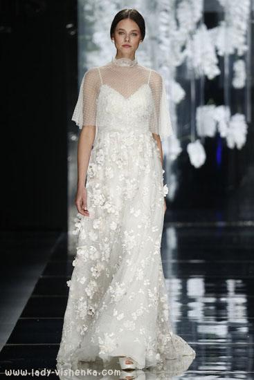 Накидка свадебное платье 2016 YolanCris