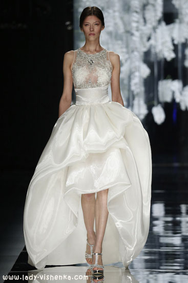 Маленькое свадебное платье YolanCris